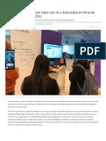 Niña Genio Chilena Crea Robot Con IA y Deslumbra en Feria de Desarrolladores en EEUU - Diario Financiero