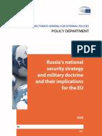 Russia Sec Pol 2017 EU Analysis