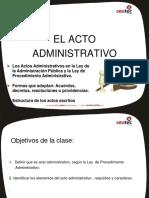 El Acto Administrativo(1)