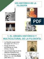 El origen histórico de la filosofía - Oriental y medieval