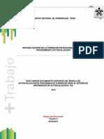 Anexo 4 Guía Cargue Documentos Soporte Del Modelo de Autoevaluación de Programas SENA Al SIA