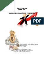 Saldos de Fondos Publicos -SAFOP