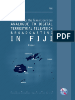ITU - Roadmap for the Transition From Analogue to Digital Terrestrial Television Broadcasting in Fiji Report - June 2013