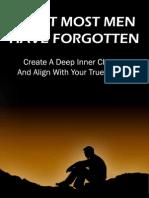 What Most Men Have Forgotten by Brendan Corbett