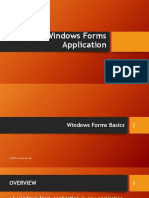 c1- C# Windows Forms Application
