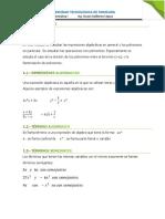 Modulo I Polinomios Leccion 1
