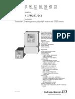 Liquisys m Cpm223253 Data Sheet