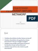Petrografi_Batuan Metamorf