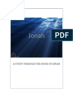 The Book of Jonah - Six Bible Study Lessons