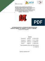 Automatizacion de La Piscina de Hidroterapia