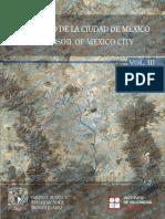 """Marsal/Masari/Auvinet/Méndez/Juárez - El Subsuelo de La Ciudad de México Vol. III - PARTE E """"AVANCES EN EL CONOCIMIENTO DE LA ESTRATIGRAFÍA Y PROPIEDADES (1959-2016)"""""""