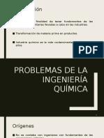 Problemas de la ingeniería química