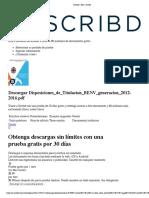 Disposiciones_de_Titulacion_BENV desde Scribd