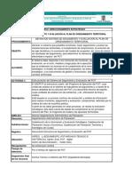 1- Procedimientos - Definicion Sistema de Seguimiento Pot - Unidad de Seguimiento Al Pot0