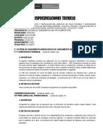 Especifciaciones Dispocision de Excretas 12