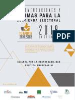 Kit Electoral MOE Para Empresarios- 2018