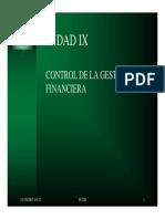 Unidad Ix - Curso Control de Gestion-fcdb-Version