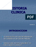 Clase de Cirugia III Historia Clinica