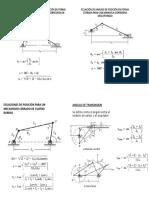 Ecuaciones de Análisis de Posición en Forma Cerrada