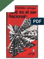 Juan José Hernández Arregui - ¿QUE ES EL SER NACIONAL - La conciencia historica iberoamericana.pdf