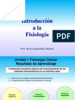 Introduccion Fisiologia