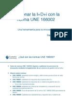UNE 166002 - Gestionar La Innovacion