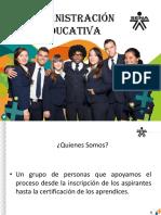 Administracion Educativa 2017