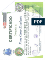 51. Certificado III Congreso Nacuinal de Arte Educaion y Cultura 2017 Compressed