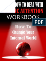 How to Deal With Attention Workbook by Brendan Corbett