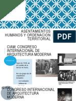 Aesentamientos Humanos y Ordenacion Territorial