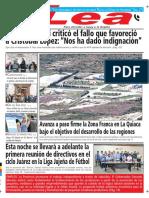 Periódico Lea Lunes 19 de Marzo Del 2018