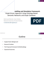 Supply Chains Modelling and Simulation Framework