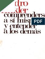 Finkler, Pedro - Comprenderse a Si Mismo y Entender a Los Demas