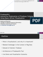 FrrbaseViz-A Tool for Exploring Freebase Using Query-Driven Visualisation