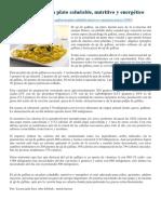 El Ají de Gallina y Otros Platos Nutritivos