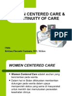Women Centered Care  & Continuity of Care Coc