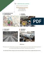 PBS Transportation Sheet