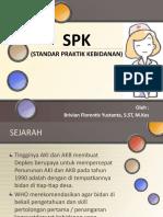 SPK (Standar Praktik Kebidanan)