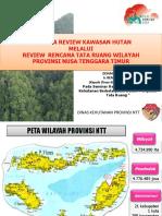 2.Rencana Review Kawasan Hutan NTT