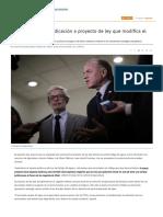 Gobierno Anuncia Indicación a Proyecto de Ley Que Modifica El Código de Aguas - Diario Financiero