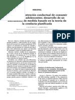 Análisis de La Intención Conductual de Consumir Cannabis en Adolescentes_ Desarrollo de Instrumento de Medida Basado en La Teoria de Conducta Planificada