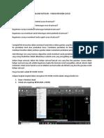 4. Belajar Autocad - Fungsi Revision Cloud