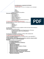 Solución Del Examen de Estructura y Organización Del Estado