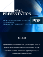 Proposal Presentation Hazri