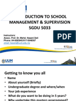 Lecture 1 SGDU5033 Introduction (2017)