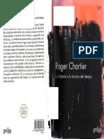 Chartier, Roger - La Historia o La Lectura Del Tiempo -Gedisa (2007)