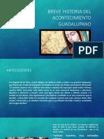 Breve Historia Del Acontecimiento Guadalupano 2 [Autoguardado]