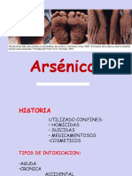 Clase 08 Arsenico