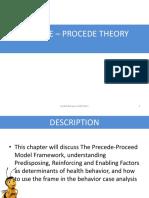 4. Precede-Proceed Model