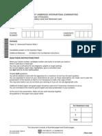 9702 s10 Qp 31 Practical
